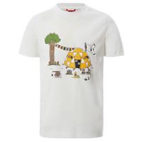 tekstylia Chłopiec T-shirty z krótkim rękawem The North Face GRAPHIC TEE Biały