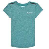 tekstylia Dziewczynka T-shirty z krótkim rękawem Columbia TECH TREK Zielony