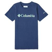 tekstylia Dziewczynka T-shirty z krótkim rękawem Columbia SWEET PINES GRAPHIC Marine
