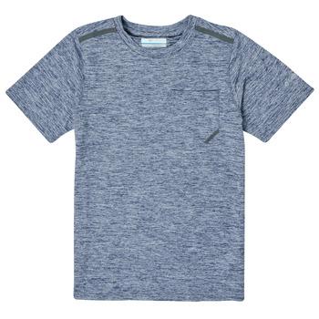 tekstylia Chłopiec T-shirty z krótkim rękawem Columbia TECH TREK Marine