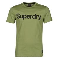 tekstylia Męskie T-shirty z krótkim rękawem Superdry MILITARY GRAPHIC TEE 185 Kaki