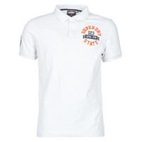 tekstylia Męskie T-shirty z krótkim rękawem Superdry CLASSIC SUPERSTATE S/S POLO Szary