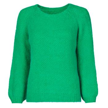 tekstylia Damskie Swetry Betty London NIMIM Zielony