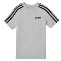 tekstylia Chłopiec T-shirty z krótkim rękawem adidas Performance YB E 3S TEE Szary
