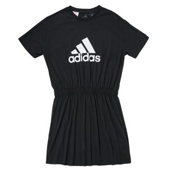 tekstylia Dziewczynka Sukienki krótkie adidas Performance G DANCE DRESS Czarny