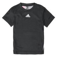 tekstylia Chłopiec T-shirty z krótkim rękawem adidas Performance B A.R. TEE Czarny