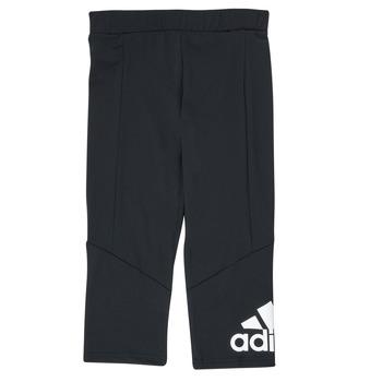 tekstylia Dziewczynka Legginsy adidas Performance G BL 34 TIG Czarny
