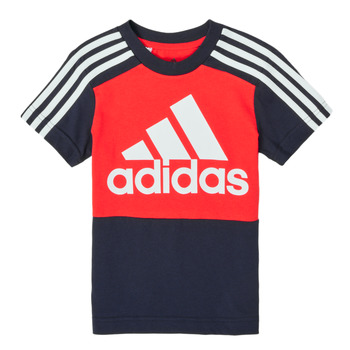 tekstylia Chłopiec T-shirty z krótkim rękawem adidas Performance B CB T Czerwony / Marine