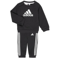 tekstylia Dziecko Komplet adidas Performance BOS JOG FT Czarny
