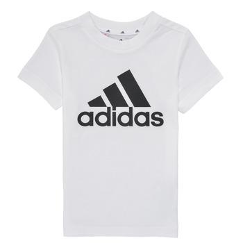tekstylia Chłopiec T-shirty z krótkim rękawem adidas Performance B BL T Biały