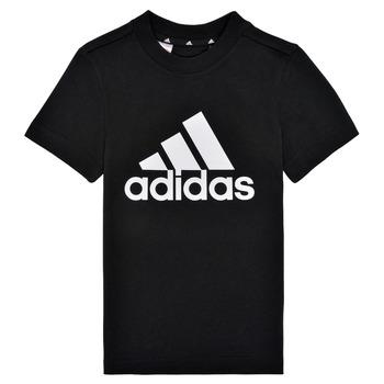 tekstylia Chłopiec T-shirty z krótkim rękawem adidas Performance B BL T Czarny
