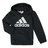 tekstylia Chłopiec Bluzy adidas Performance B BL HD Czarny