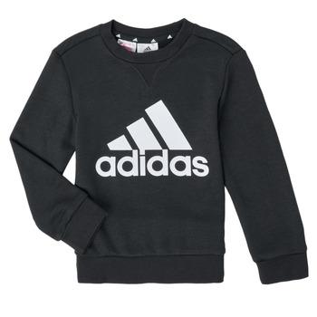 tekstylia Chłopiec Bluzy adidas Performance B BL SWT Czarny
