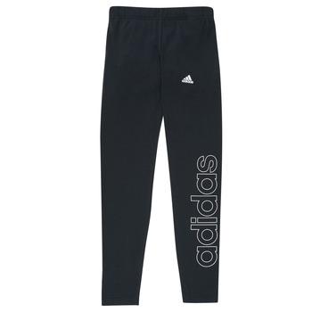 tekstylia Dziewczynka Legginsy adidas Performance G LIN LEG Czarny