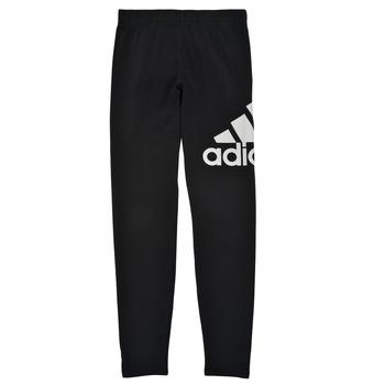 tekstylia Dziewczynka Legginsy adidas Performance G BL LEG Czarny