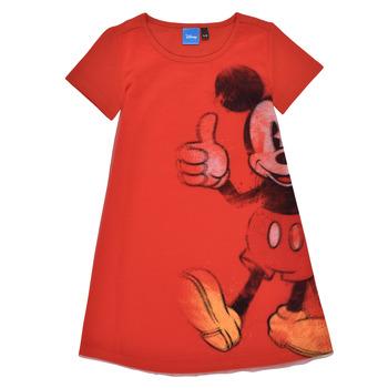 tekstylia Dziewczynka Sukienki krótkie Desigual 21SGVK41-3036 Czerwony