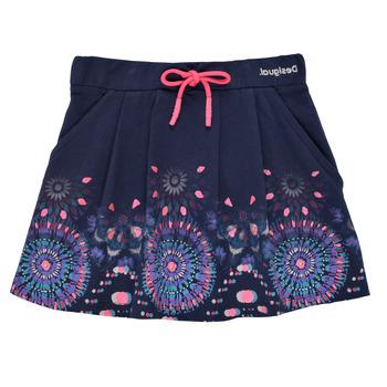 tekstylia Dziewczynka Spódnice Desigual 21SGFK03-5000 Niebieski
