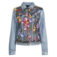 tekstylia Damskie Kurtki jeansowe Desigual BALT Niebieski