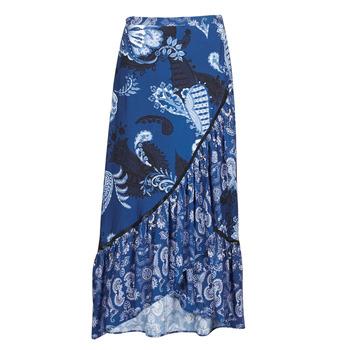 tekstylia Damskie Spódnice Desigual NEREA Niebieski