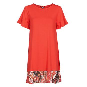 tekstylia Damskie Sukienki krótkie Desigual KALI Czerwony