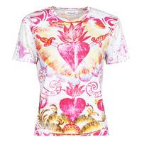 tekstylia Damskie T-shirty z krótkim rękawem Desigual TATTOO Wielokolorowy