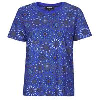 tekstylia Damskie T-shirty z krótkim rękawem Desigual LYON Marine