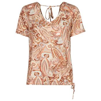 tekstylia Damskie T-shirty z krótkim rękawem Cream LULLA TSHIRT Wielokolorowe