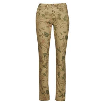 tekstylia Damskie Spodnie z pięcioma kieszeniami Cream LOTTE PRINTED Wielokolorowe