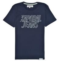 tekstylia Chłopiec T-shirty z krótkim rękawem Kaporal MAIL Marine