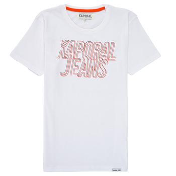 tekstylia Chłopiec T-shirty z krótkim rękawem Kaporal MAIL Biały