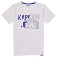 tekstylia Chłopiec T-shirty z krótkim rękawem Kaporal MAYO Biały