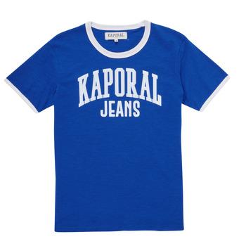 tekstylia Chłopiec T-shirty z krótkim rękawem Kaporal METRO Niebieski