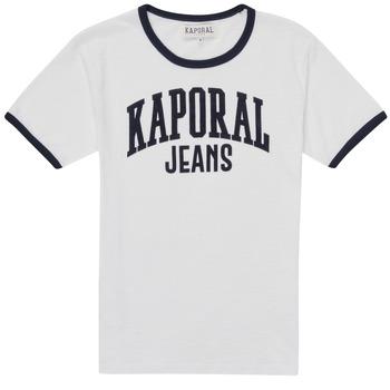 tekstylia Chłopiec T-shirty z krótkim rękawem Kaporal METRO Biały