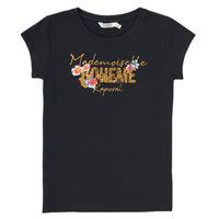 tekstylia Chłopiec T-shirty z krótkim rękawem Kaporal ELISA Czarny