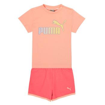 tekstylia Dziewczynka Komplet Puma BB SET ABRI Różowy