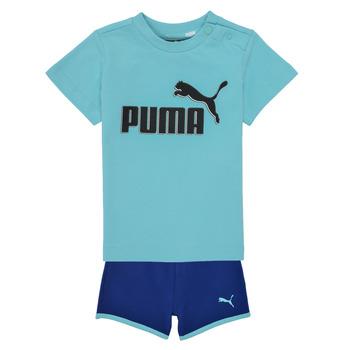 tekstylia Chłopiec Komplet Puma BB SET ANGEL Niebieski