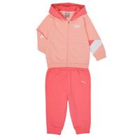 tekstylia Dziewczynka Komplet Puma BB MINICATS REBEL Różowy / Szary