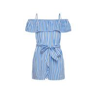 tekstylia Dziewczynka Kombinezony / Ogrodniczki Pepe jeans LILI Niebieski