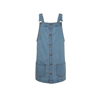 tekstylia Dziewczynka Sukienki krótkie Pepe jeans CHICAGO PINAFORE Niebieski