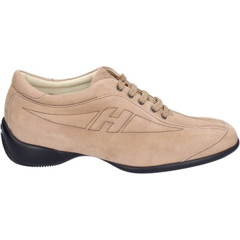 Buty Damskie Trampki Hogan Sneakersy BK586 Beżowy