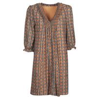 tekstylia Damskie Sukienki krótkie Freeman T.Porter JUNA SAMBA Pomarańczowy