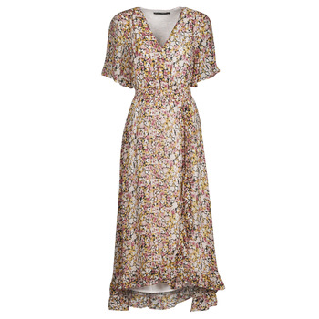 tekstylia Damskie Sukienki krótkie Freeman T.Porter ROLINE GARDEN Wielokolorowy
