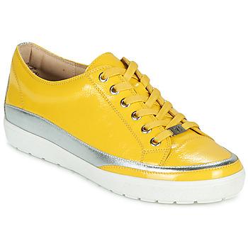 Buty Damskie Trampki niskie Caprice 23654-613 Żółty / Srebrny