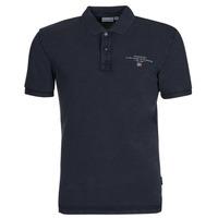 tekstylia Męskie Koszulki polo z krótkim rękawem Napapijri ELBAS 4 Marine