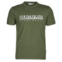 tekstylia Męskie T-shirty z krótkim rękawem Napapijri SALLAR SS Zielony