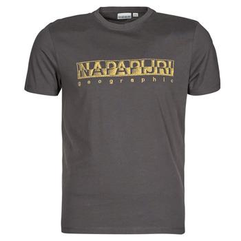 tekstylia Męskie T-shirty z krótkim rękawem Napapijri SALLAR SS Szary / Fonce