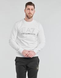 tekstylia Męskie Bluzy Emporio Armani EA7 3KPMD7-PJ2SZ-1100 Biały