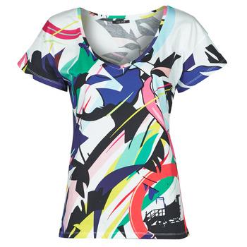 tekstylia Damskie T-shirty z krótkim rękawem One Step MONA Wielokolorowy