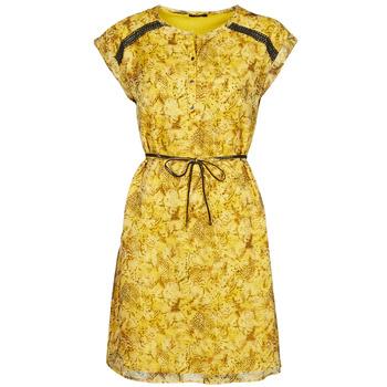 tekstylia Damskie Sukienki krótkie One Step RAYNA Żółty