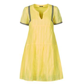 tekstylia Damskie Sukienki krótkie One Step ROYA Żółty